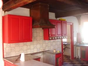 Værelse på 1. sal i vest fløjen &; det gamle køkken